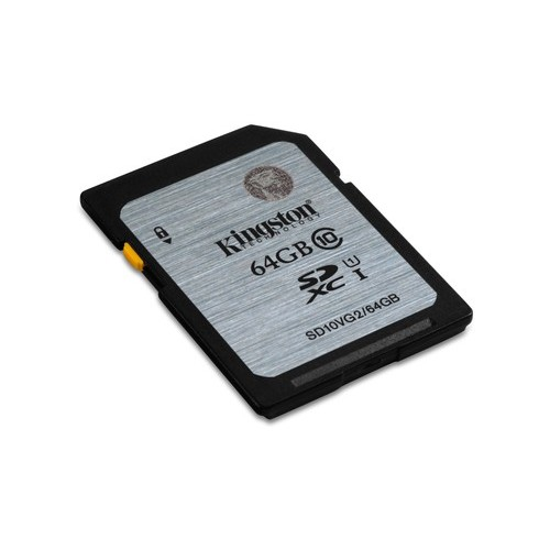 Kingston Technology Class 10 UHS-I SDXC 64GB 64GB SDXC UHS Class 10 memoria flash