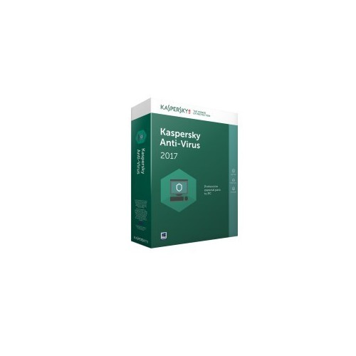 Kaspersky Lab Anti-Virus 2017 3usuario(s) 1año(s)