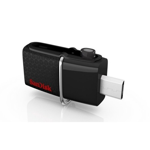 SANDISK ULTRA ANDROID DUAL USB DRIVE 128GB BLACK