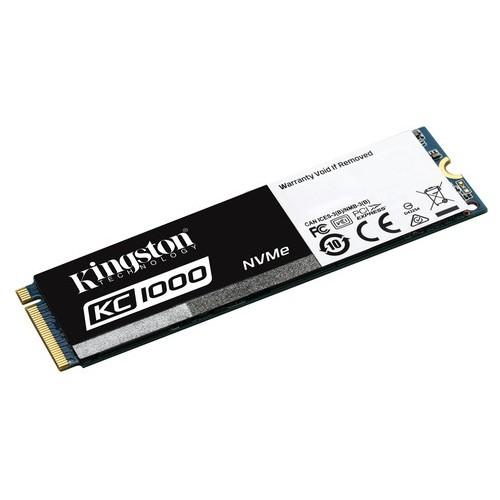 KINGSTON SSD KC1000 - 480GB NVME PCIE SSD (M.2)