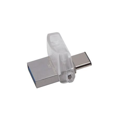 USB KINGSTON 128GB DT MICRODUO 3C, USB 3.0/3.1 TYPE-C