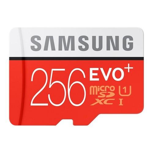 MICRO SD SAMSUNG EVO 2017/256GB/(MB-MC256GA/EU)/ CLASE 10 CON ADAPTADOR