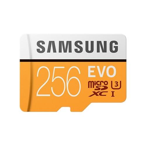 MICRO SD SAMSUNG EVO 2017/256GB/(MB-MP256GA/EU)/ CLASE 10 CON ADAPTADOR