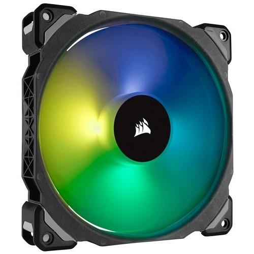 VENTILADOR CAJA CORSAIR ML140 PRO RGB 140MM PREMIUM MAGNETIC LEVITATION RGB LED PWM FAN SINGLE PACK