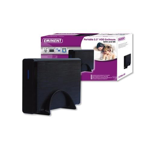 Ewent Carcasa HD 3,5. IDESATA. USB 2.0. Aluminio. Plateado