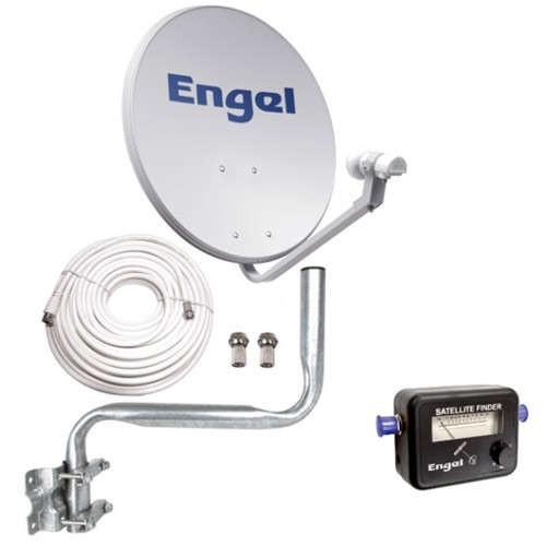 Engel Kit Satelite Antena 80CMLNBLocalizadorKit Instalación (sin receptor)